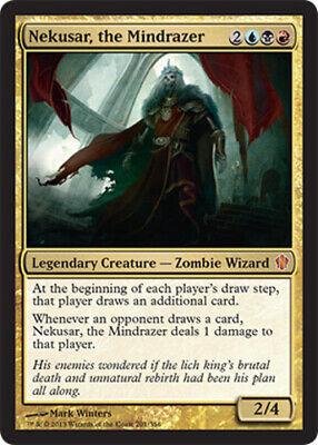 Commander 2013 Mythic x1 THE MINDRAZER ~mtg NM//NM 1 NEKUSAR