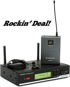 sennheiser xsw 12 wireless lavalier microphone system xsw12 a band lapel mic ebay. Black Bedroom Furniture Sets. Home Design Ideas