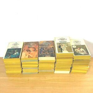 Vintage Grace Livingston Hill Book Lot 1 to 50 Paperback Bantam Retro Covers LB