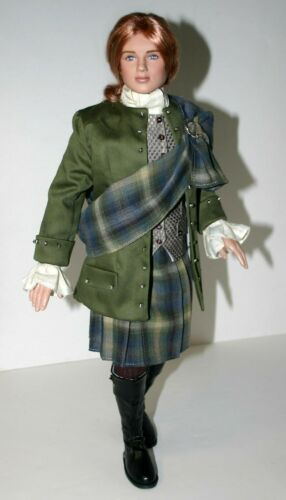 "Outlander Wedding Jamie Doll Clothes Sewing Pattern 19/"" Tonner Mortimer Peter"