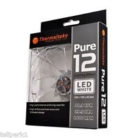 Thermaltake Pure 12 120mm Computer Fan With White Leds