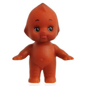 Cute Kewpie Doll Baby Cupie Vintage Cameo Figurine Rubber Ornament Moved Arm Leg