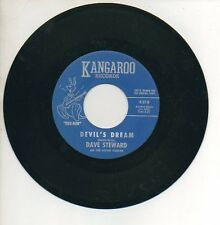 DAVE STEWARD & COTTON PICKERS 45 RPM Record DEVIL'S DREAM / ALWAYS A FEW THINGS