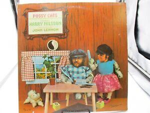 HARRY NILSSON~PUSSY CATS~LP~CPL1-0570~RCA~GATEFOLD~1974 VG+ c VG+