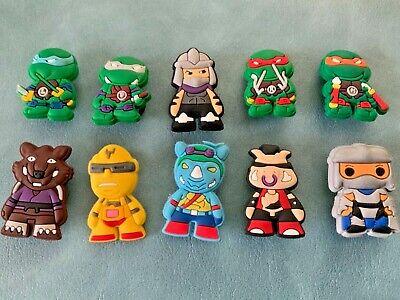 10 X Ninja Turtles Jibbitz Charm Scarpa Fatta Per Crocs & Braccialetti,- Prezzo Basso
