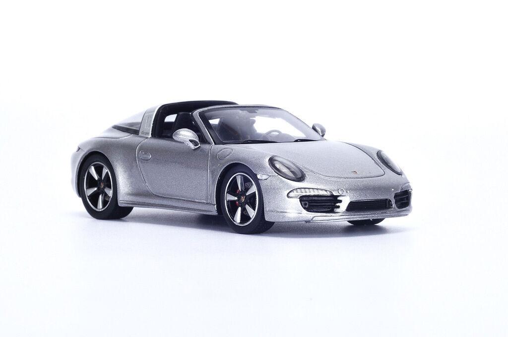 SPARK Porsche 991 Targa 4S argent - Argent S4934 1 43