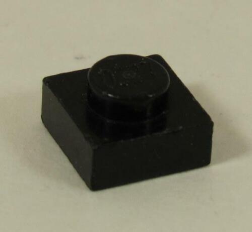 Plate 1 x 1~ 3024 BLACK 3024 LEGO Parts~ 10