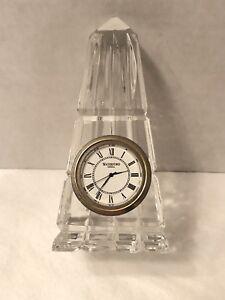 Ebay Waterford Crystal Clock Wwwhealthgainstore