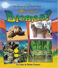Que Son Los Biomas? / What is a Biome? (La Ciencia De Los Seres Vivos/Science of