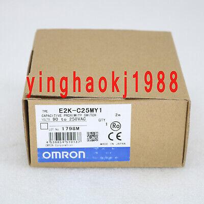 New Omron capacitive proximity switch E2K-C25MY1 free shipping