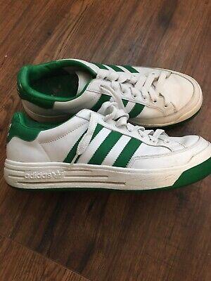 Escudero Subdividir Controversia  Vintage Adidas 'Ilie Nastase Sz 8 White/ Green Limited Edition Shoes | eBay