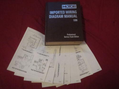 1996 NISSAN MAXIMA WIRING DIAGRAMS SCHEMATICS SET