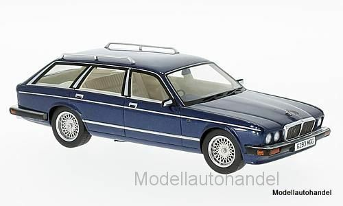 Jaguar xj40 Shooting  Brake, Metallic Dark bleu, RHD, 1989 1 43 Neo 47040 nouveau  magasin d'offre
