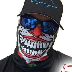 Salt armour clown joker face shield sun mask balaclava for Sa fishing face shield review