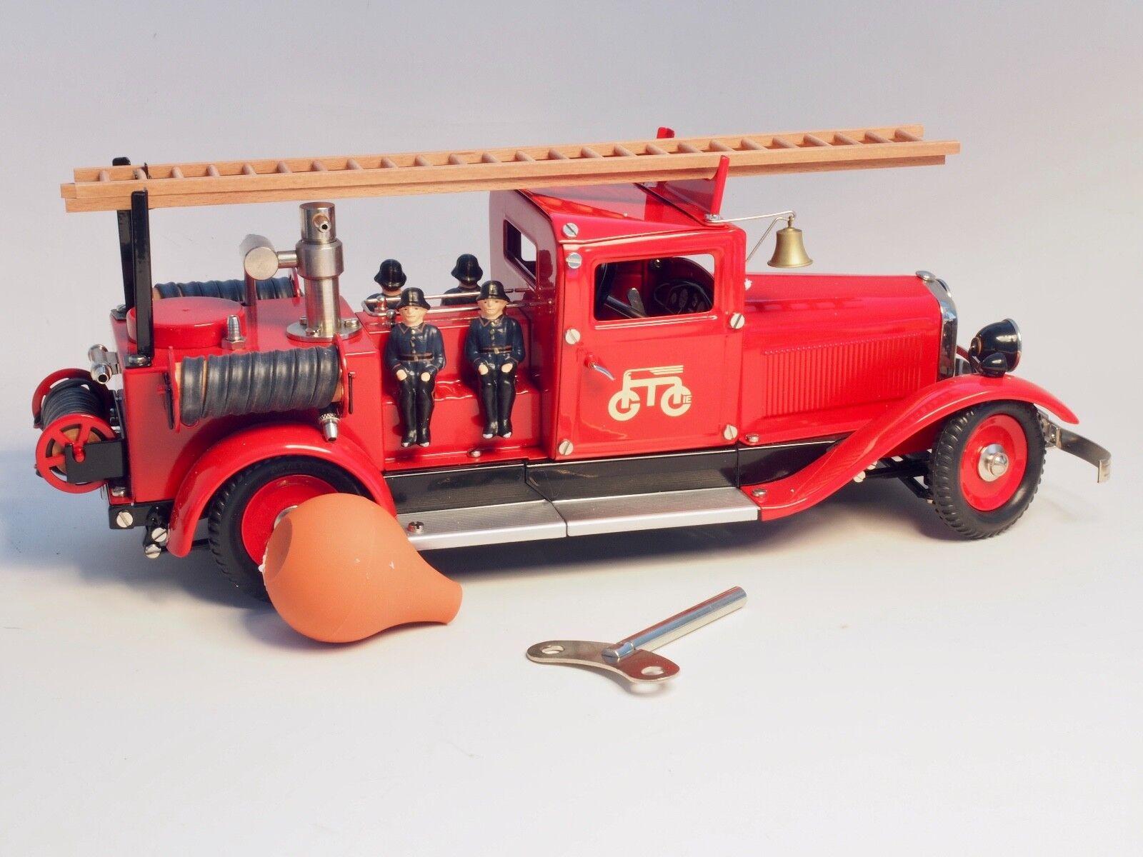 19034 Marklin Vigili Del Fuoco Acqua Pumper Camion, Wind-Up a Molla Motore