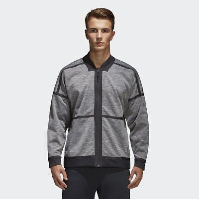 cualquier cosa semanal práctico  adidas Z.N.E. Reversible Bomber Jacket Men New Mens Grey Black CF0652 | eBay