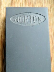 Vintage-NOS-Norton-Double-Sided-Black-Tan-Oil-Stone