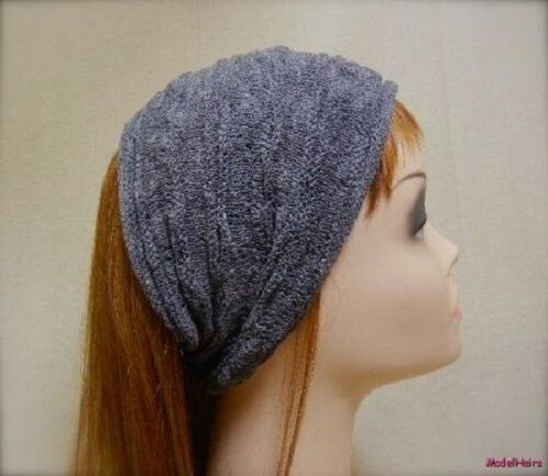 Elegant Knitted Crochet Hair Wrap Band Style W.100/% Cotton High Quality