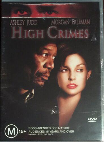 1 of 1 - High Crimes (DVD, 2004)  Ashley Judd Morgan Freeman  BRAND NEW & SEALED