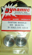 1pr Vintage 1960's Original Custom Smooth Alum Wheels Dynamic #625 NOS 5:40