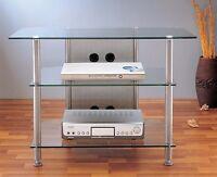 Vti Glass A/v Tv Rack, Agr37, Brand New,free Ship