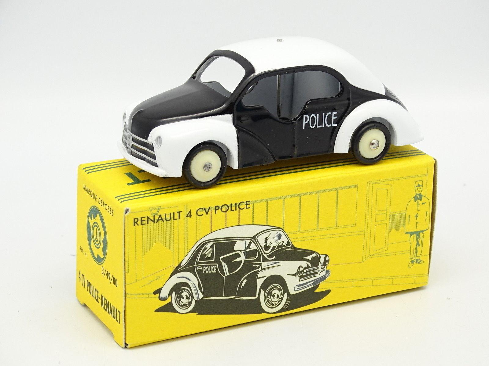 CIJ By Norev 1 43 - Renault 4CV Police Pie