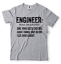 miniature 2 - Engineer T-shirt Funny Engineering T-shirt.Gift For Engineer Shirt Funny Tshirt