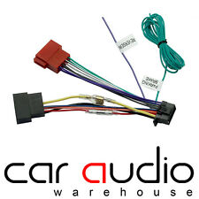 ct21jv01 9 pin iso head unit replacement car stereo wiring harness rh ebay co uk Aftermarket Car Stereo Wiring Harness Sony Car Stereo Wiring Harness