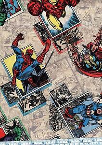 Fat Quarter Marvel Ultimate Spiderman II 100/% Cotton Quilting Fabric