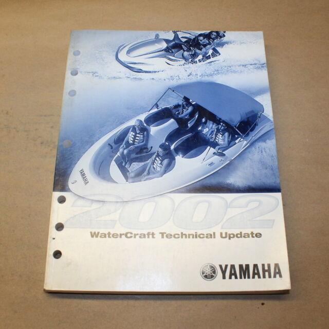 Yamaha 2002 Watercraft Technical Update Service Bulletin
