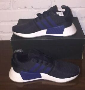 Details about ADIDAS NMD R2 NAVY BLUE BLACK WOMENS W CQ2008 NEW BOOST ORIGINALS Sz 10