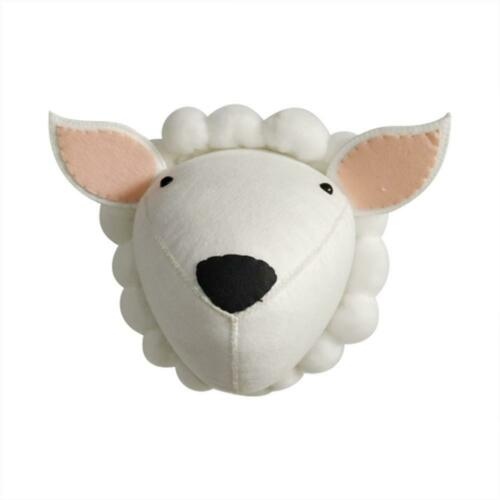 3D Felt Stuffed Animal Head Wall Hanging Children Room Decor Toy Birthday Gift