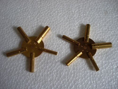 MASTER Key for all SHIP CLOCK BRASS Total 10 type of Key HOLE in Two piece