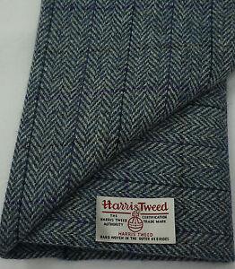 Harris Tweed Fabric /& labels 100/% wool Craft Material various Sizes code.apr90