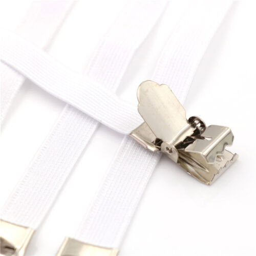 4 x Ironing Board Cover Clip Fasteners Tight Fit Elastic Brace Ties Straps Gr Pr
