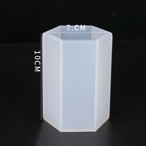 Epoxy Silicone  Jewelry  Tool  Mold  DIY Resin  Mould  Craft  Cylinder  Casting
