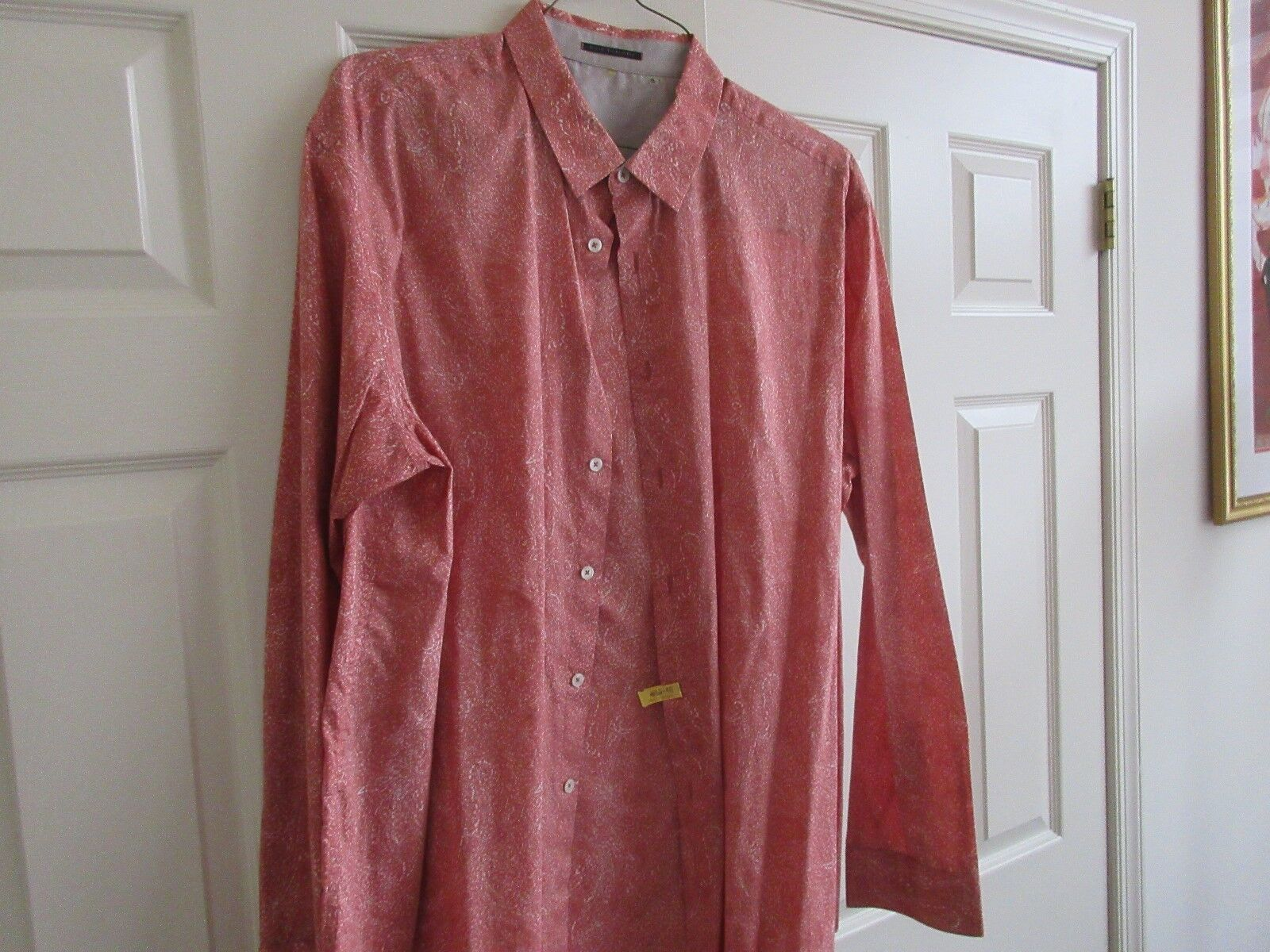Elie Tahari , XX-Large/TTG , Men's Long Sleeve Shirt