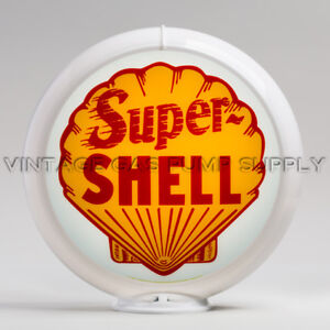 "Super Shell 13.5"" Gas Pump Globe (G176)"