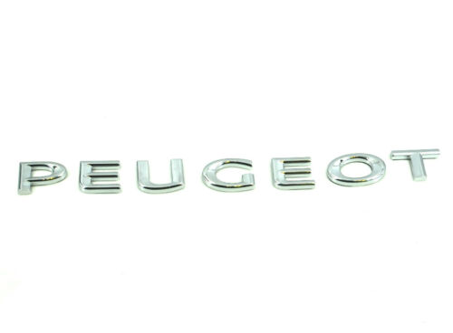 Genuine New PEUGEOT REAR BADGE Boot Emblem For All 2008 2013-18 GT Line BlueHDi