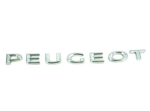 Genuine New Peugeot Arrière Badge Coffre Emblème Pour Tous 2008 2013-18 GT Line BlueHdi