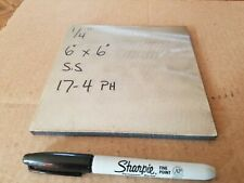 17 4 Ph Stainless Steel 14 X 6 X 6 Bar Plate
