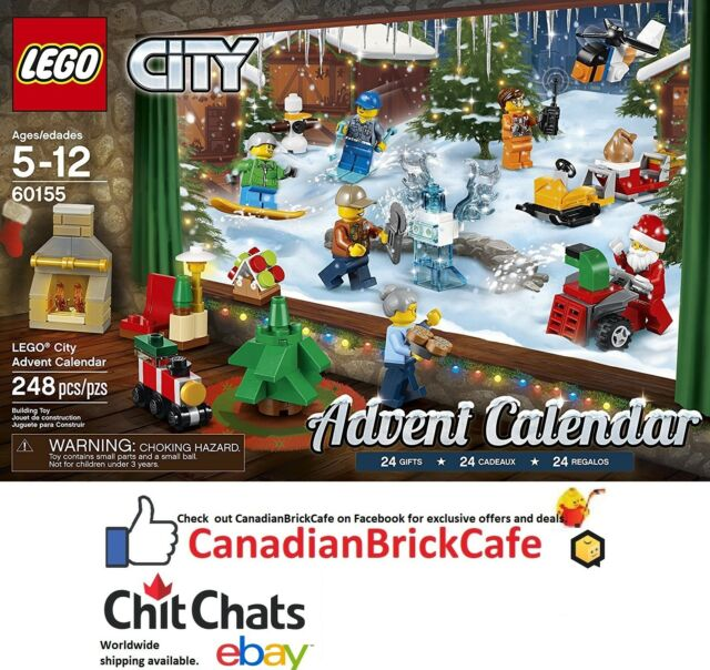 LEGO City Advent Calendar 60155 Building Kit (248 Piece) LEGO City