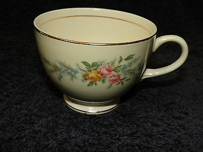 Homer Laughlin Eggshell Nautilus Ferndale Tea Cup EXCELLENT!