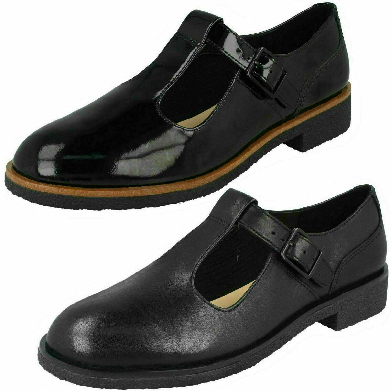 Signore Clarks Griffin TOWN T Bar Sautope