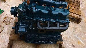 Details about Mustang Skid Steer Kubota V2203 51 HP Diesel Engine - USED