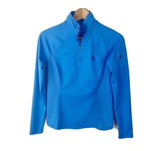 Nike-ACG-S-Small-Halfzip-Pullover-Blue-Dri-Fit-Pocket-Womens-M25