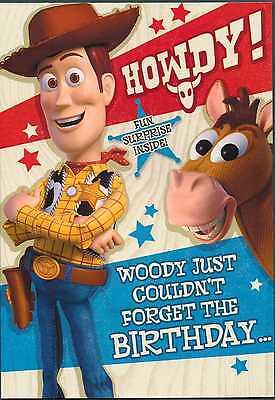 Disney Pixar Toy Story 3 ~ Woody Howdy!  Birthday card