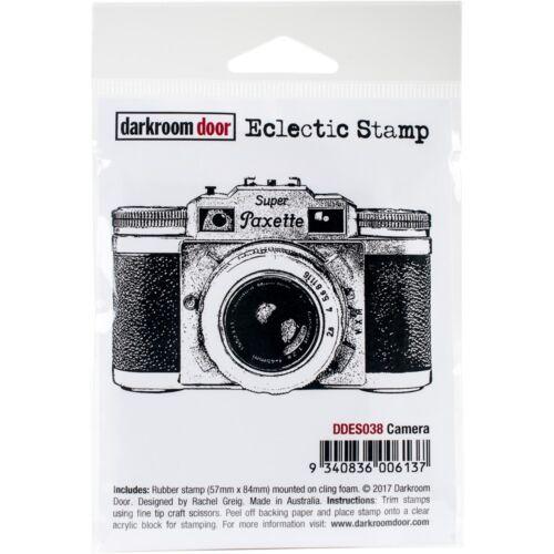 """Darkroom Door Cling Stamp 3/""""x2/""""-camera"""