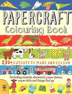 Papercraft-Colouring-Book-by-Clare-Beaton-9781909767430-Paperback-2014