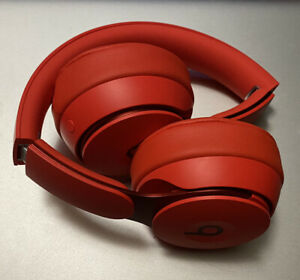 Beats Solo Pro Wireless Noise Cancellation With Apple H1 Headphone Chip Red Ebay